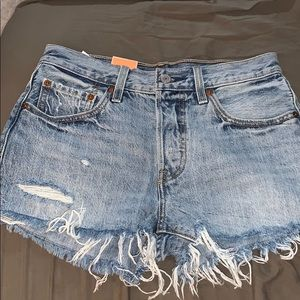"Never worn Levi's ""501"" shorts size 26"